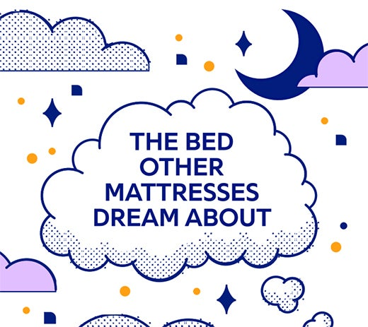The bed other Mattresses dream about - Illustration