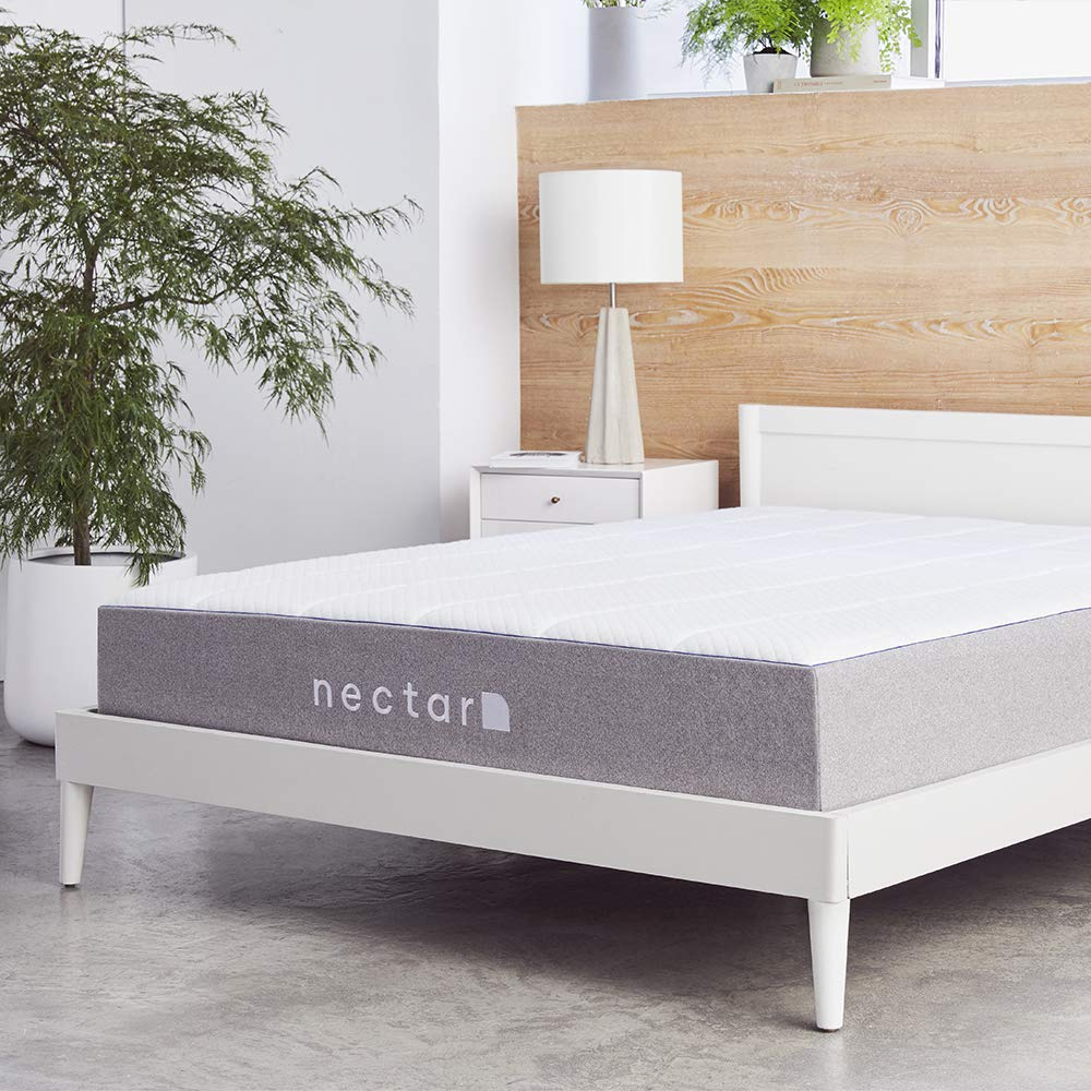 nectar King memory foam mattress - thickness