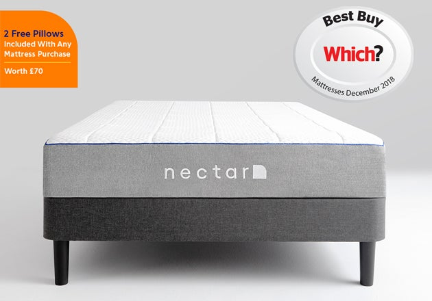 nectar King memory foam mattress